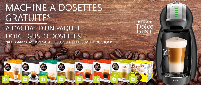 Paquet Dolce Gusto